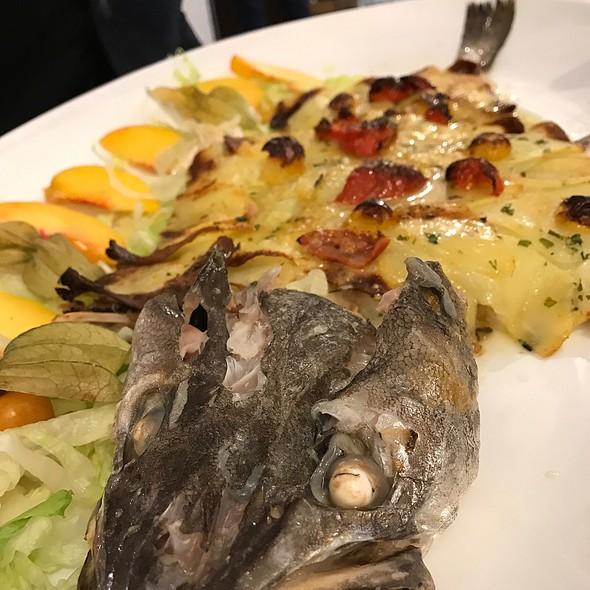 Baked Fish @ Nonna Maria Restaurant SRLS