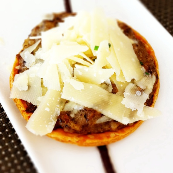 Tarta De Setas Con Lascas De Parmesano @ La Moraga - Miramar