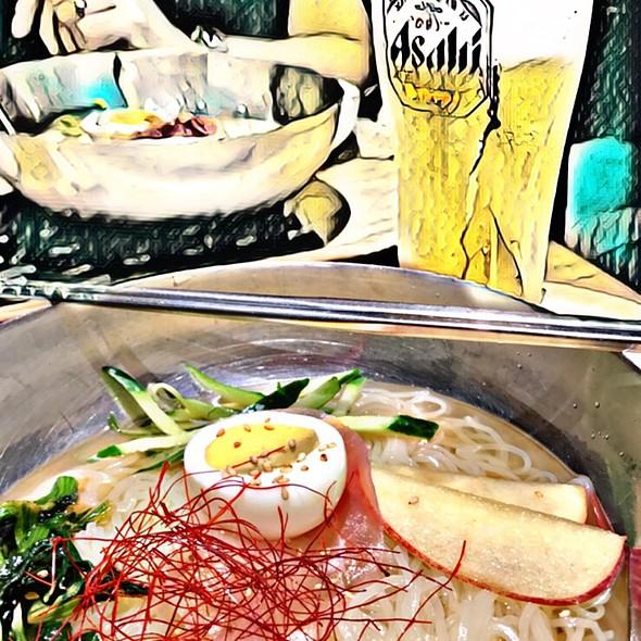 Reimen (Cold Korean Noodle Soup)