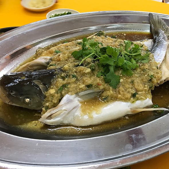 Steamed Patin Fish With Ginger