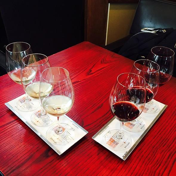 British Columbia Wine Flight