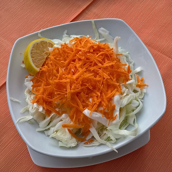 Cabbage And Carrot Salad @ Vios