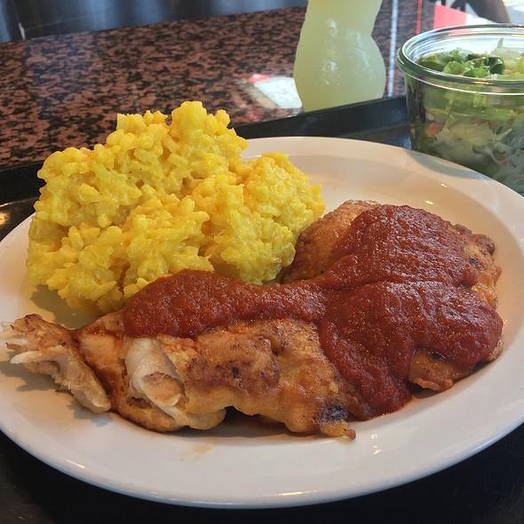 Chicken Piccata And Safran Risotto
