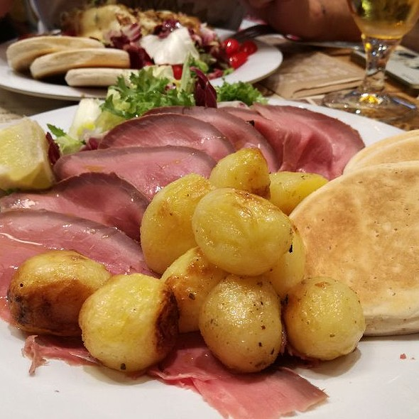 Roast Beef All'inglese Con Patate