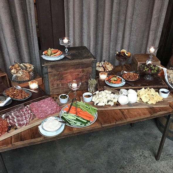 Charcuterie And Cheese Buffet