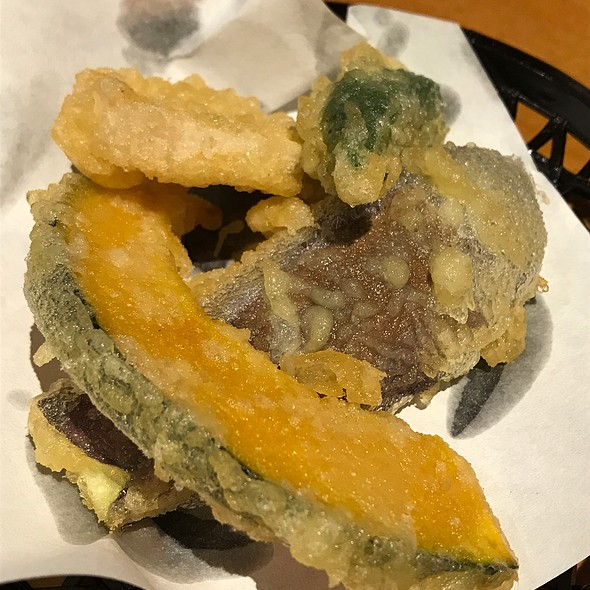 Vegetables Tempura @ 久兵衛屋ふじみ野店