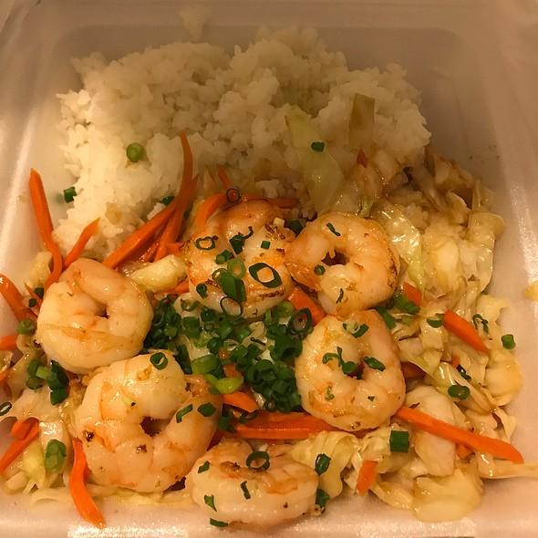 Garlic Shrimp with Rice