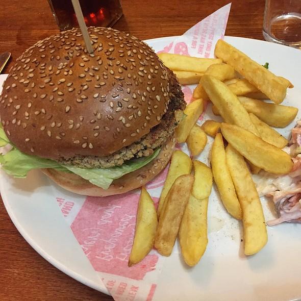 Veggie Nacho Burger