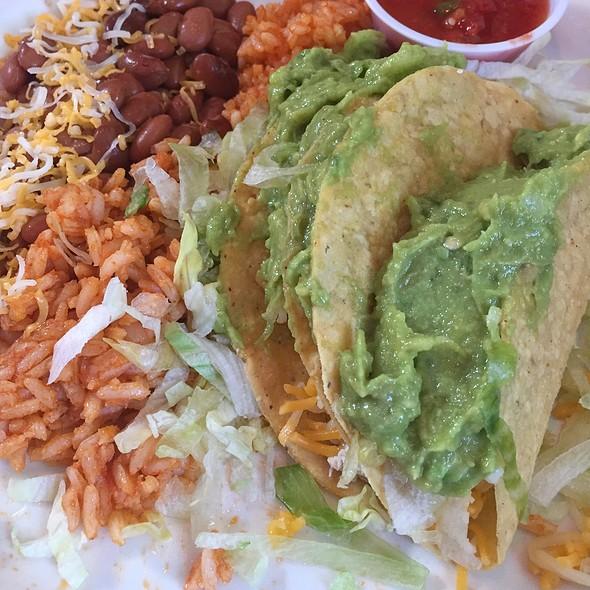 Guacamole Chicken Tacos @ Hot Tamales New Mexican Food