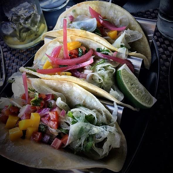 Mariposa grill menu sedona az foodspotting for Fish taco menu
