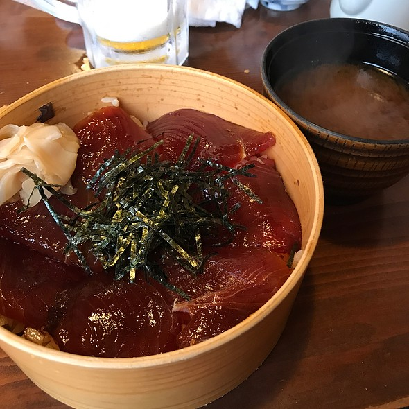 鰹のてこね寿司 @ おかげ横丁海老丸