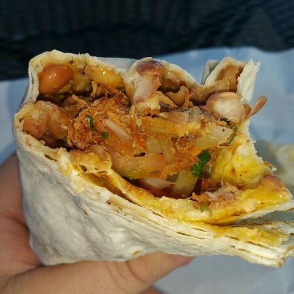 Cochinita Pibil Burrito @ Yuca's