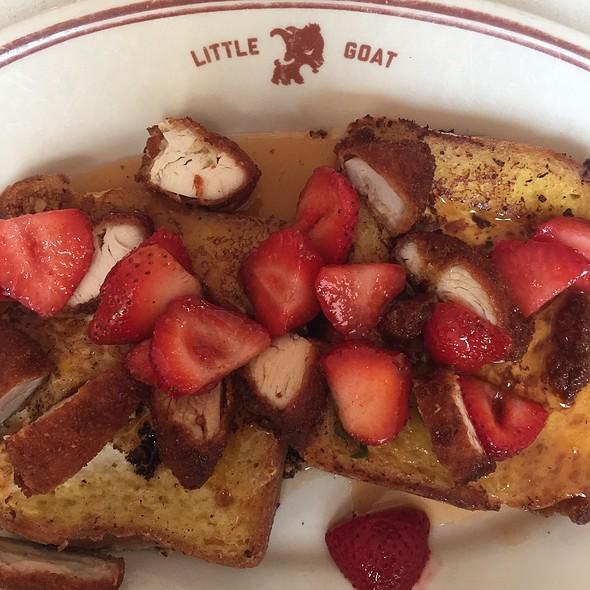 Bull's Eye French Toast @ Little Goat