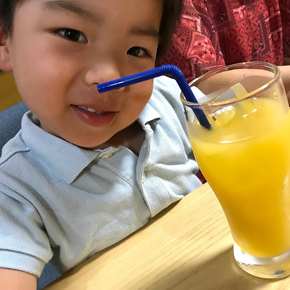 オレンジジュース @ ピッツェリア チルコロ