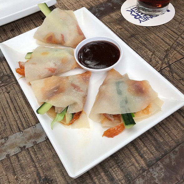 Peking Duck Pancakes @ Bamboo Dumpling Bar
