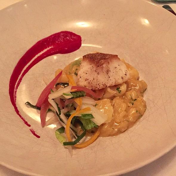 Pan Crisped Halibut @ Detente Restaurant