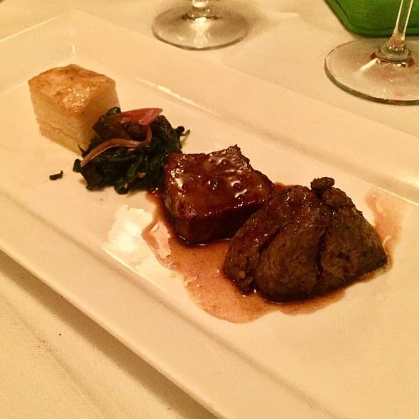 Beef tenderloin @ Detente Restaurant