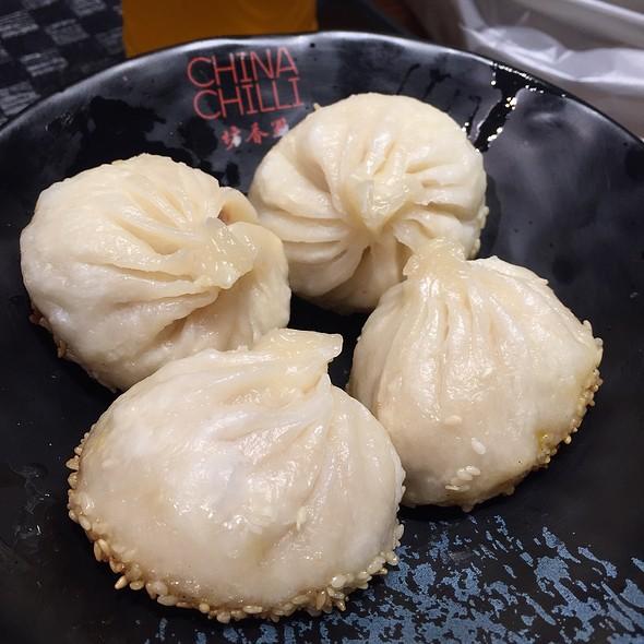 Pan Fried Sesame Bun @ Mao Cai