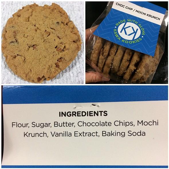 Choc Chip / Mochi Krunch Kookies @ Kawa Kookies