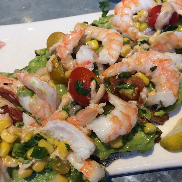 Spicy Shrimp And Avocado Tartine
