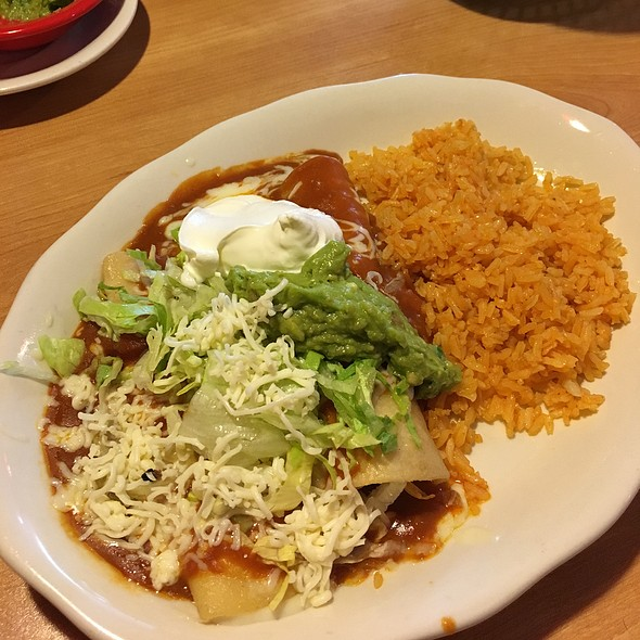 Enchilada Supreme @ Cancun Mexican Restaurant
