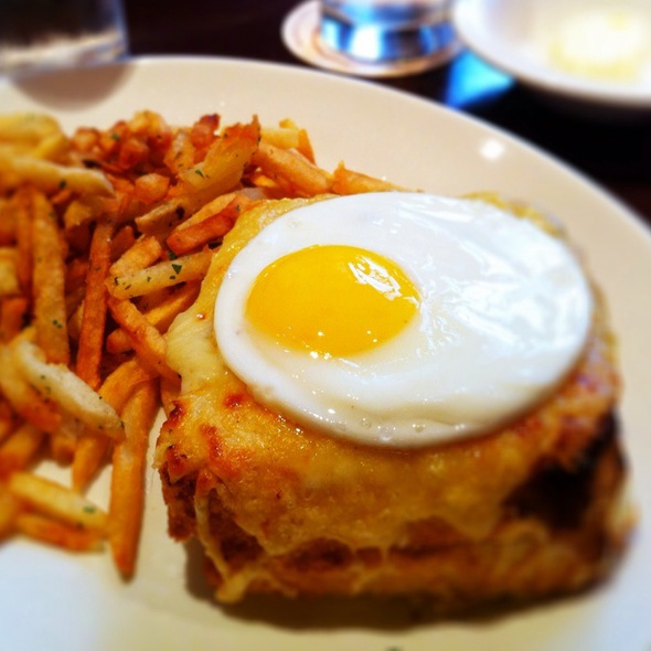 Croque Madame @ Le Sélect Bistro