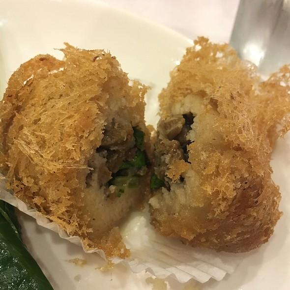 Deep Fried Taro Dumplings