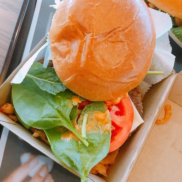Signature Sriracha Burger