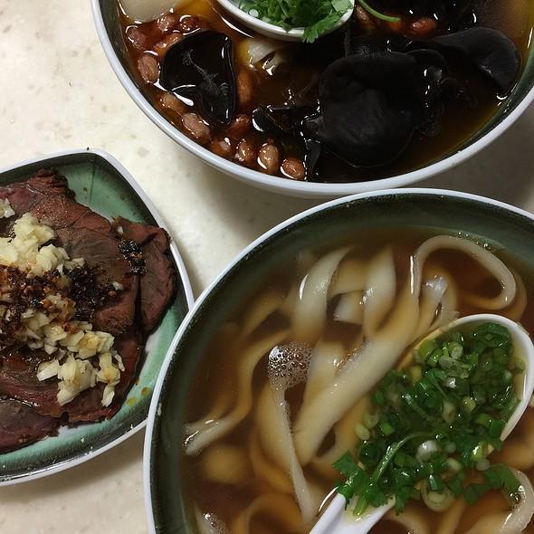 麻辣牛肉刀削麵