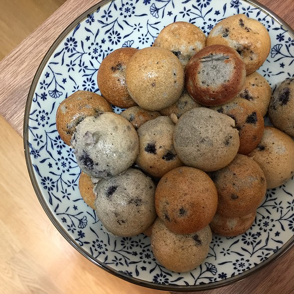 Blueberry Muffin Pops