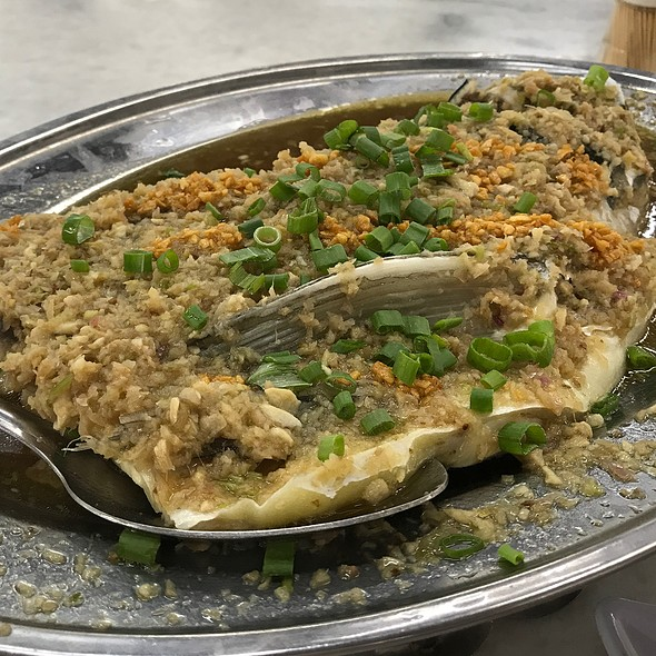 Steamed Fish with Minced Ginger
