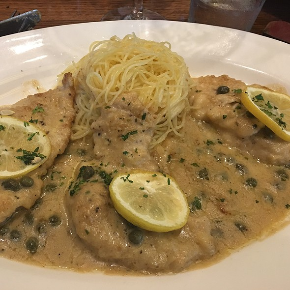 Chicken Piccata Pasta @ Cooper's Hawk Restaurant & Winery