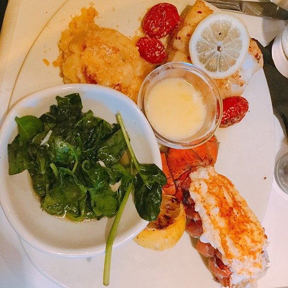 Cod Piccata & Lobster Tail