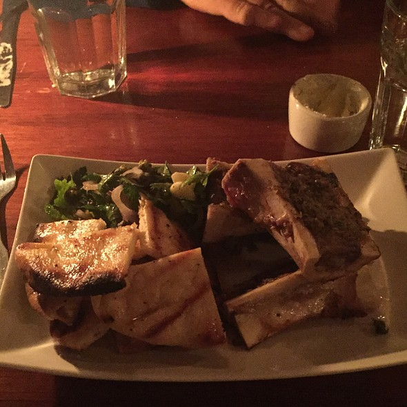 Bone Marrow And Bread @ The Loft Restaurant and Bar