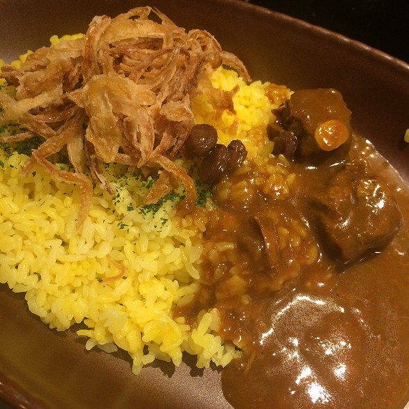 Beef Curry + Rice @ ビストロ喜楽亭