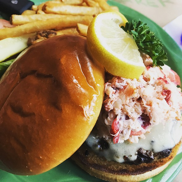Surf 'n' Turf Burger @ Delaney's Hole in the Wall