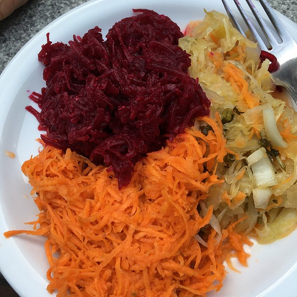 Polish Salads With Cabbage, Carrot And Beets