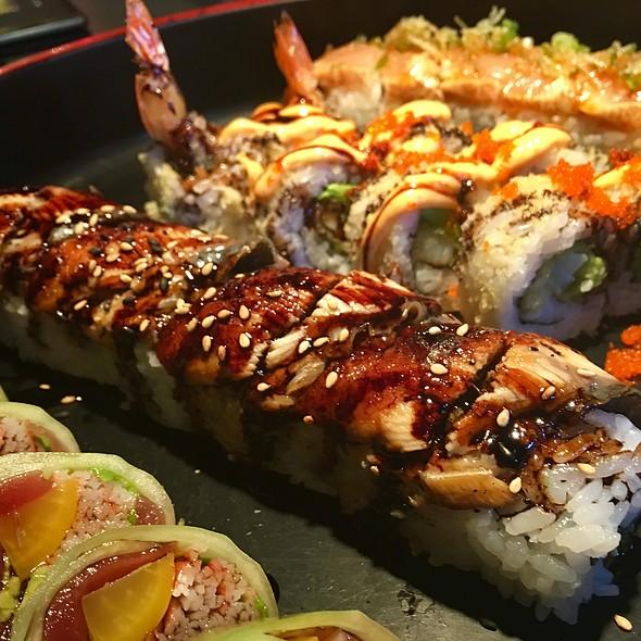 Dragon Roll @ Kampai Sushi Bar