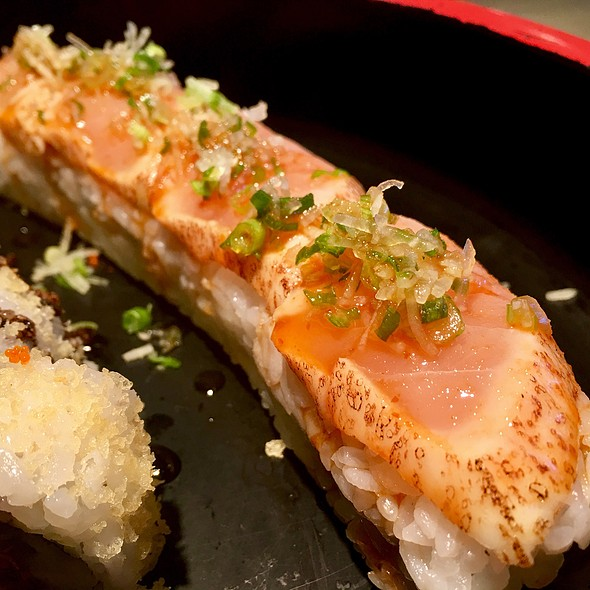 Dynamite Roll @ Kampai Sushi Bar