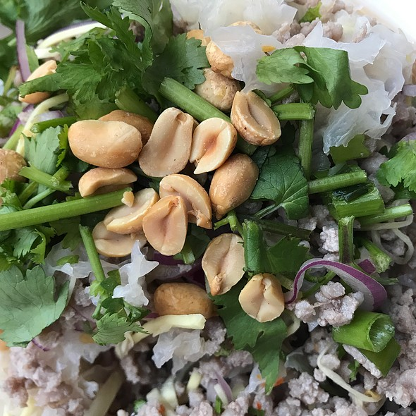 Ground Pork Salad @ Sripraphai Thai Restaurant