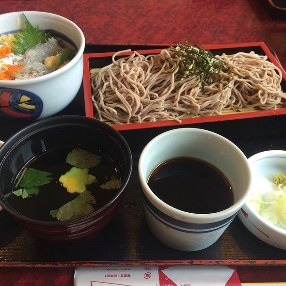 Mini Shirasu & Cold Soba Set