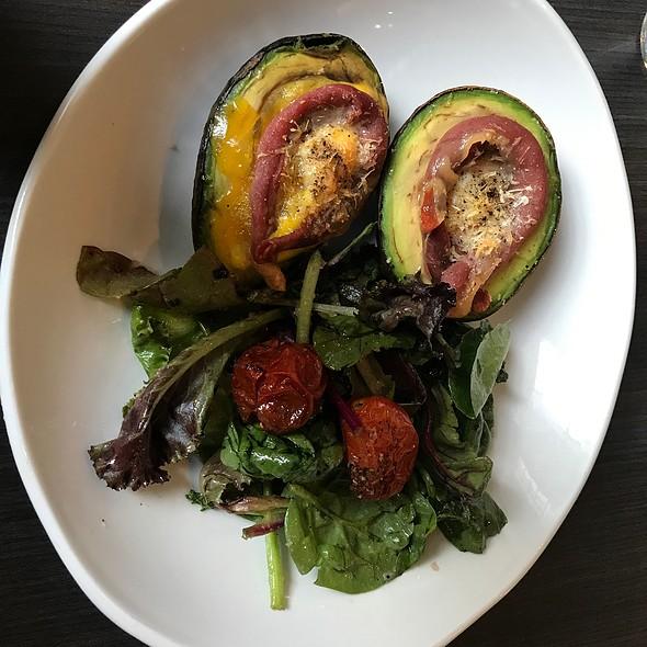 Baked Avocado @ The Dark Room at The Grandel