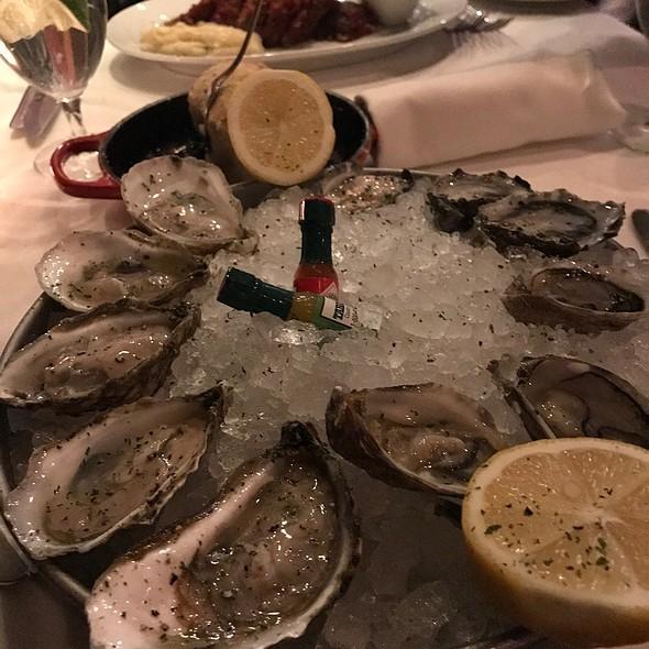 Oysters! @ Steak 48