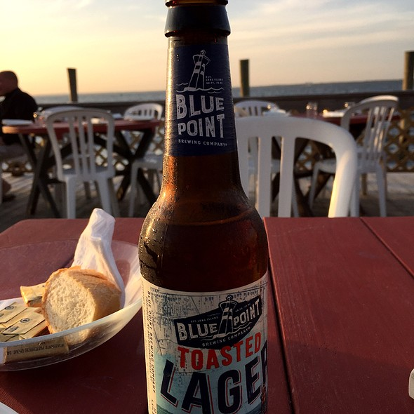 Blue Point Toasted Lager @ The Hideaway Restaurant & Bar