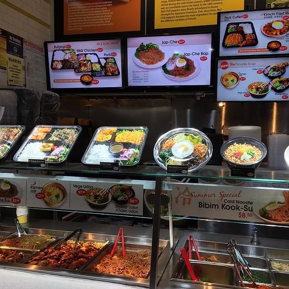 Korean Food Vendor