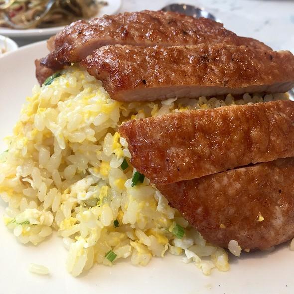Fried Rice With Pork Chop @ Din Tai Fung