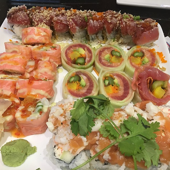 Specialty Sushi Rolls On $6 Tuesday!
