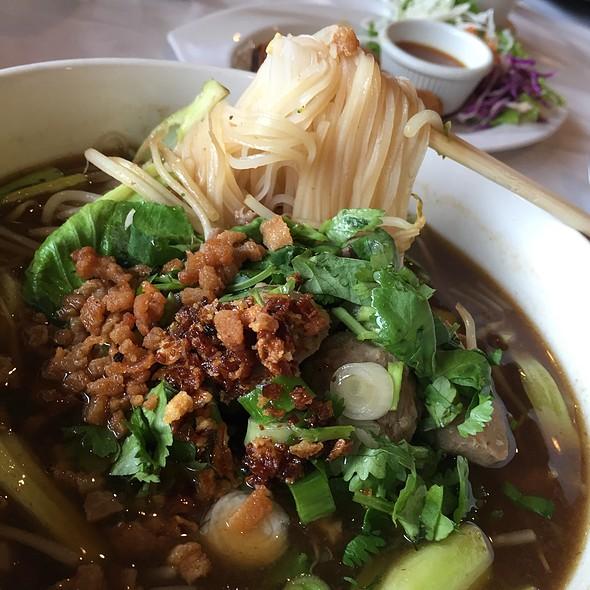 Boat noodles @ Thai Orchid Houston