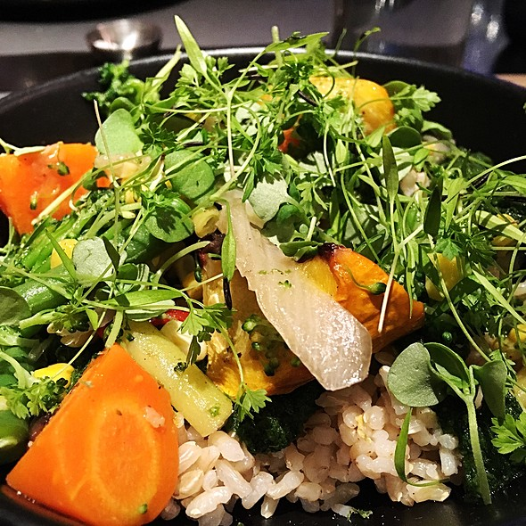 Seasonal Vegetables @ ABC Cocina