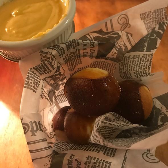 Pretzel Balls & Beer Cheese @ Back Home Restaurant